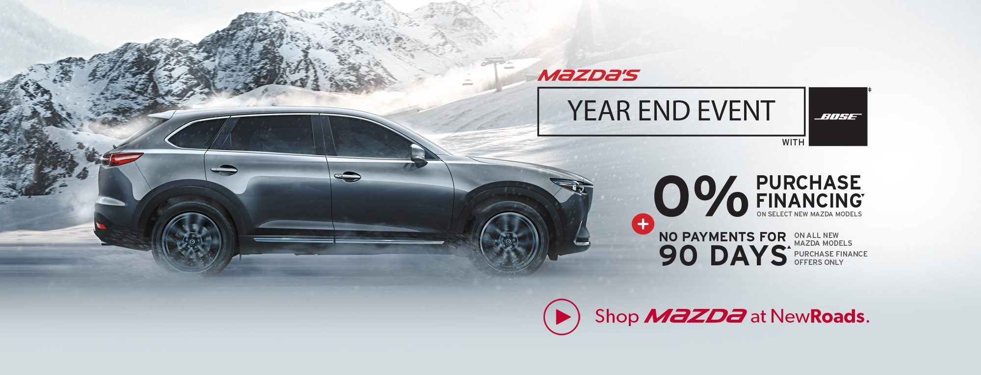 Mazda Year End Event in Newmarket
