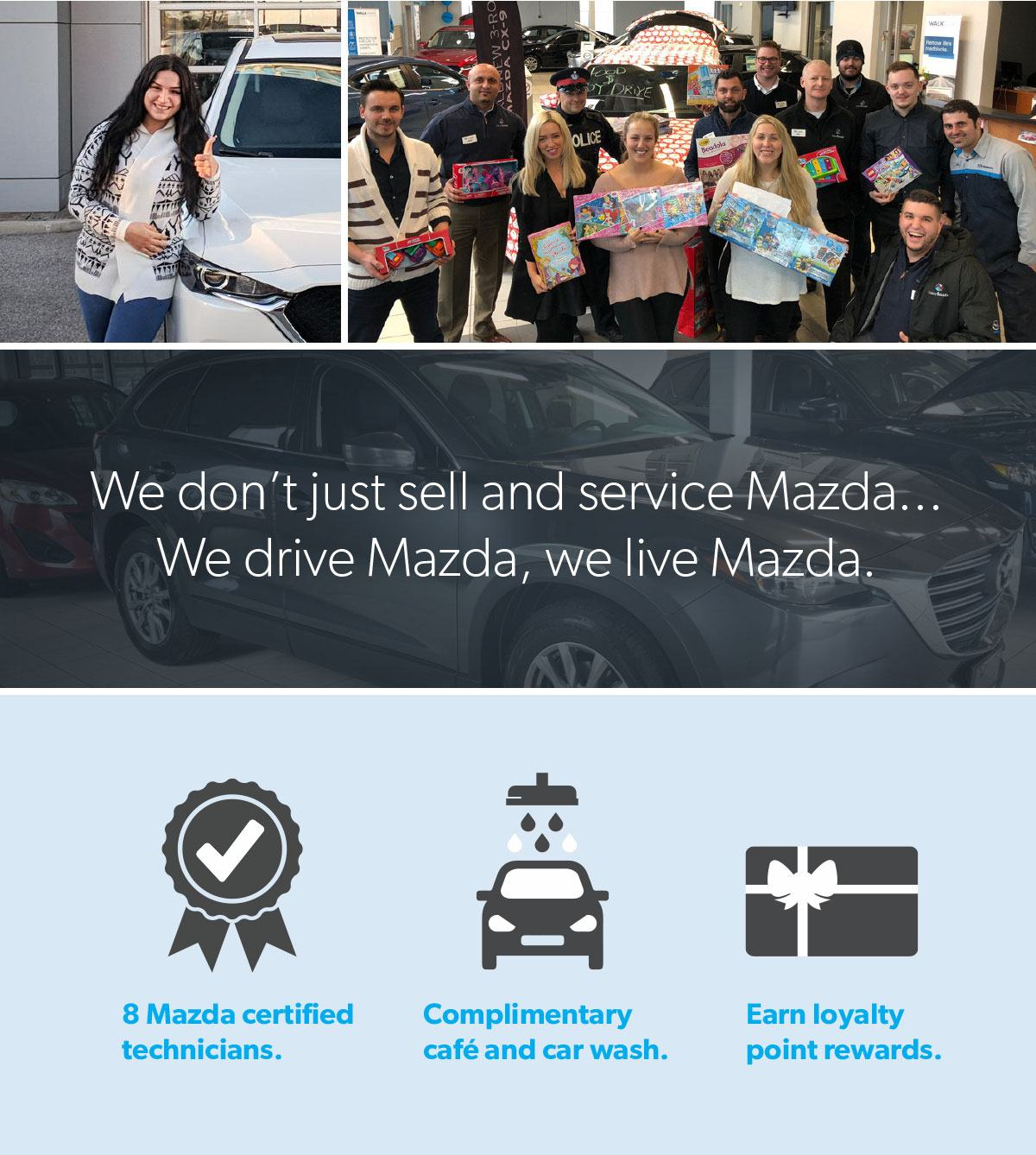 Newmarket Mazda dealership