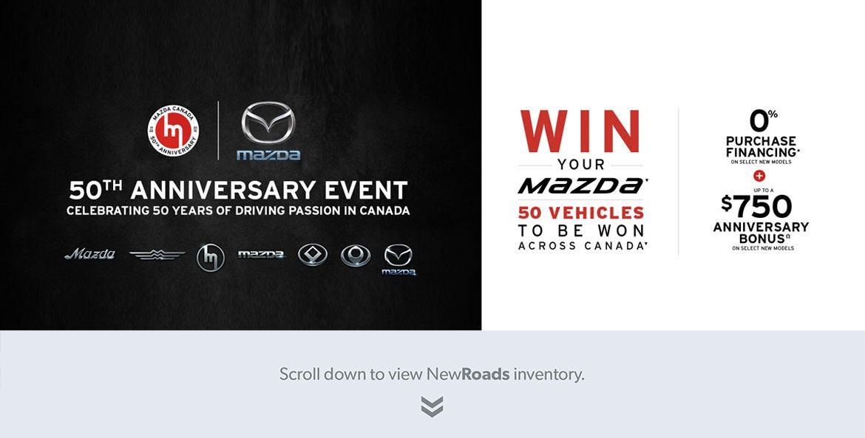 Mazda's 50th Anniversary