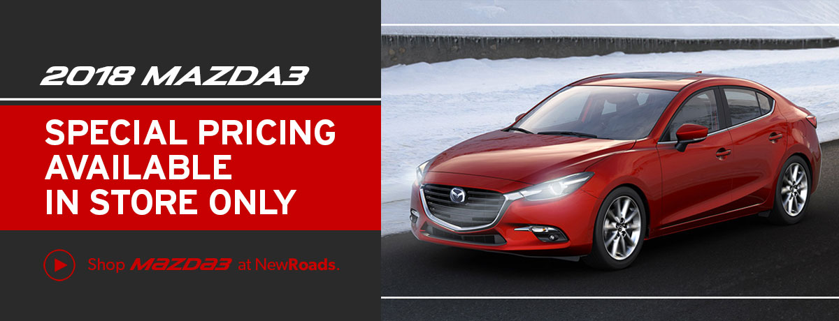2018 Mazda3 Special Pricing in Newmarket