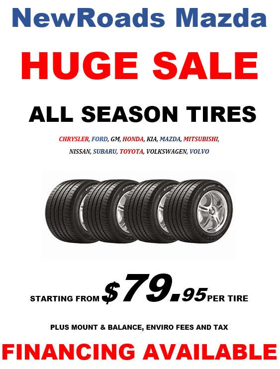 Huge Tire Sale