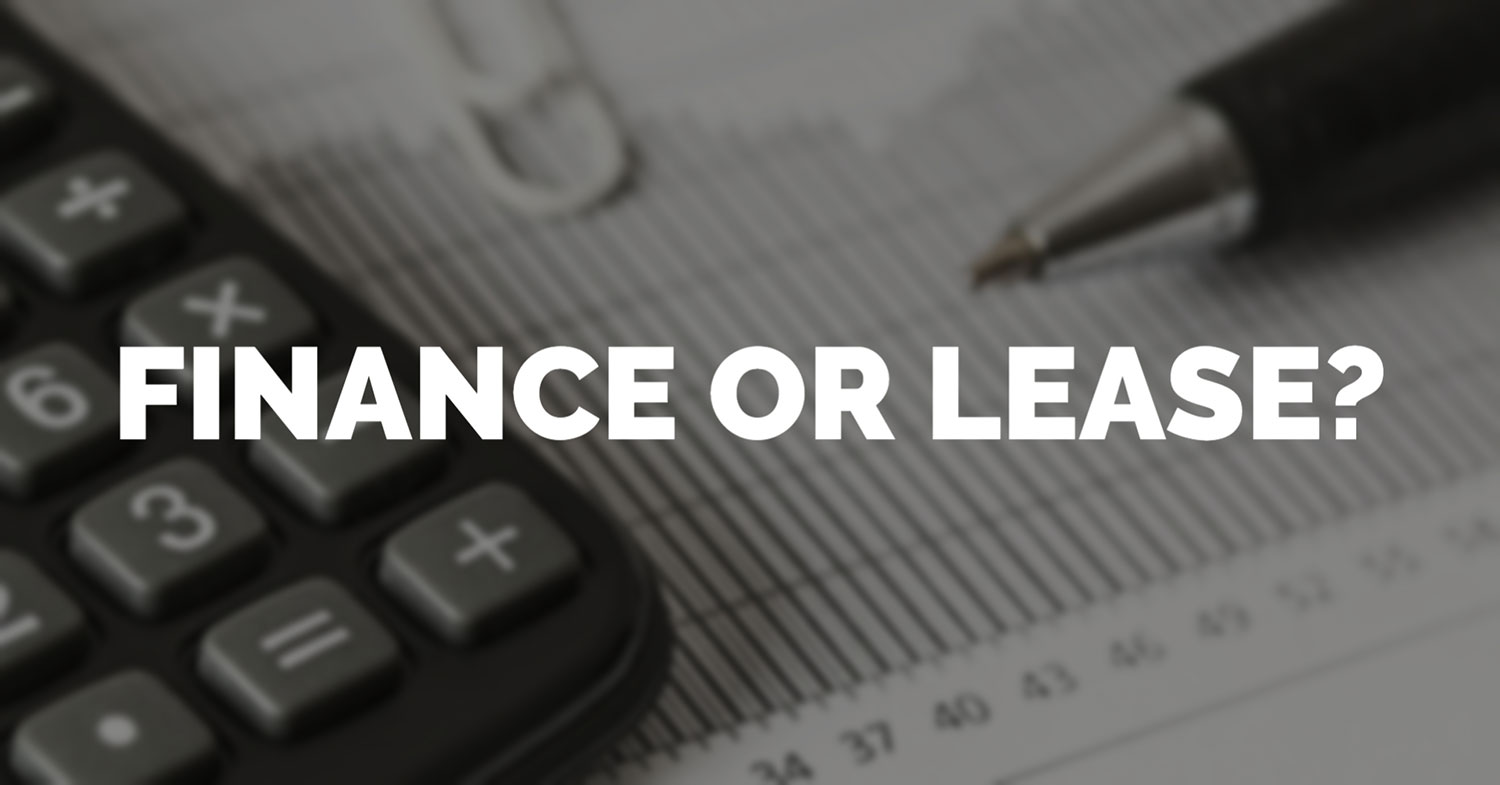 Finance or Lease