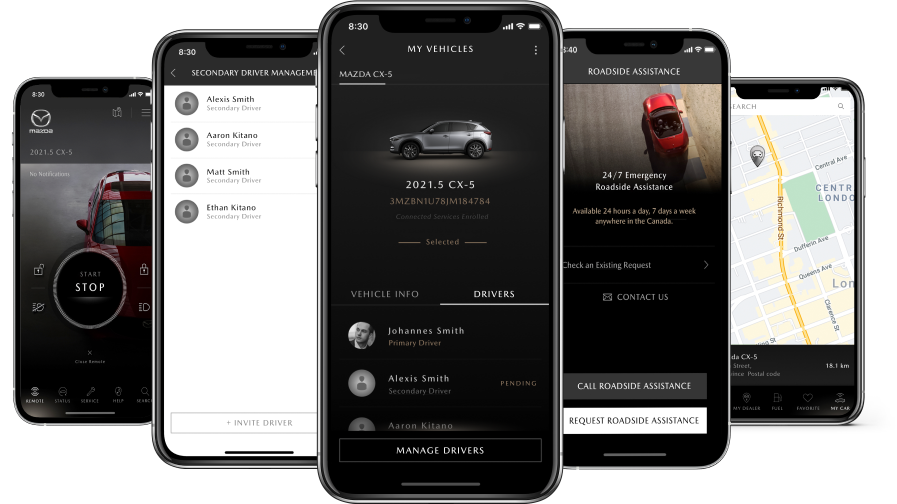 mazda connected services