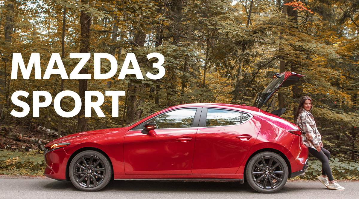 Mazda3 Sport road trip